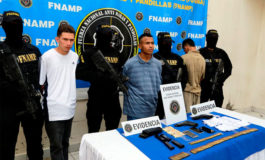 FNAMP captura a tres pandilleros en Comayagüela