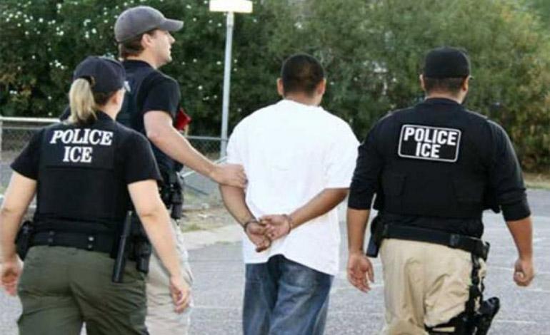 """Catorce """"catrachos"""" entre redada de migrantes"""