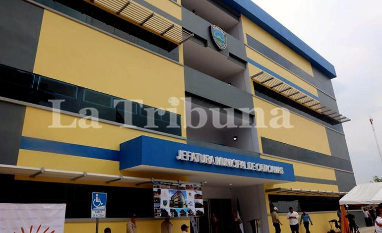 Inauguran Jefatura Municipal de Policía en Catacamas, Olancho