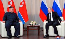 """EEUU actuó con """"mala fe"""" en la cumbre en Hanói, dijo Kim a Putin"""