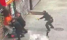 Ladrón domina a cuatro policías y les quita su pistola (Video)
