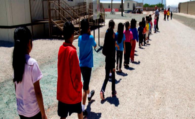 Aumenta capacidad del mayor centro de detención de menores migrantes en EEUU