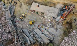 Seis muertos al descarrilar un tren de carga en China y estrellarse contra una casa