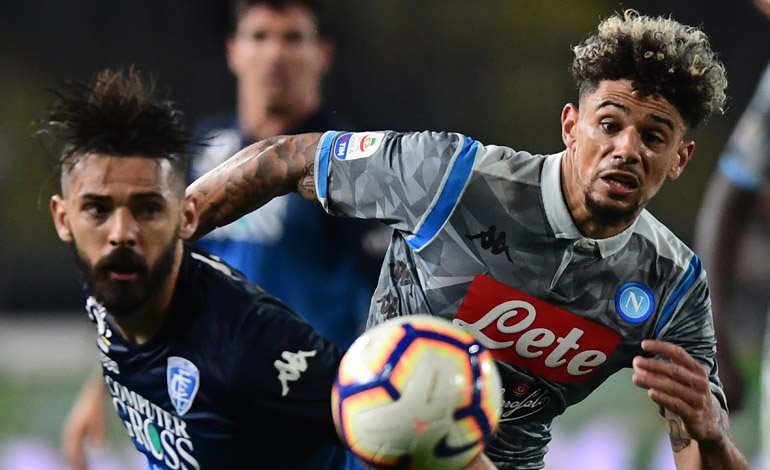 Nápoles pierde en Empoli, la Juventus acaricia el título