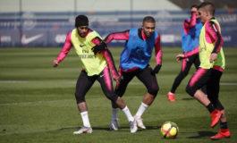 Neymar inicia el entrenamiento colectivo con el PSG
