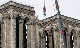 Se inician las obras de cobertura de Notre Dame