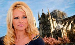 Pamela Anderson furiosa por donaciones para Notre Dame durante una gala en beneficio de jóvenes