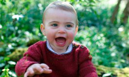 El príncipe Luis de Inglaterra cumple un año