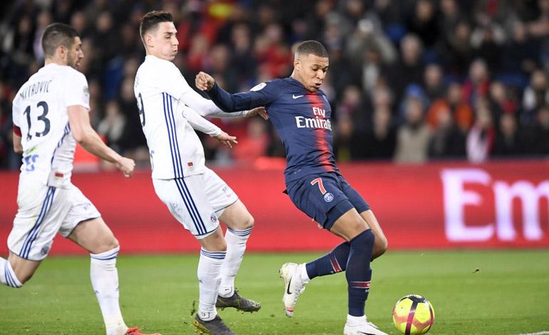 PSG empata con Estrasburgo y esperará para ser campeón