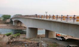 Habilitan puente sobre el río Humuya en Santa Rita (Video)