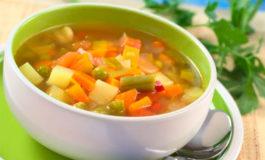Sopa quemagrasa para perder peso en siete días