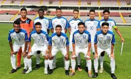 Sub-17 de Honduras empata en amistoso ante Panamá