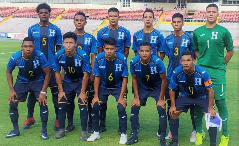 Sub-17 de Honduras goleada por Panamá