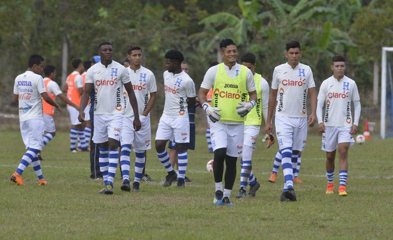 Sub-20 de Honduras trabaja en Siguatepeque
