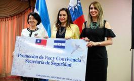 Taiwán entrega donación de un $1.1 millón para seguridad