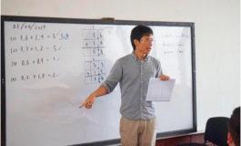 Voluntario de JICA participa en I Taller de Didáctica de las Matemáticas