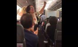 Trifulca en vuelo a Madrid en rechazo a pasajeros asociados a Nicolás Maduro