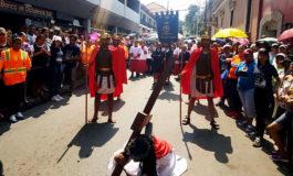 Abogan en Vía Crucis por migrantes hondureños y cese de la corrupción