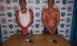 Por homicidio capturan dos sujetos en Olanchito