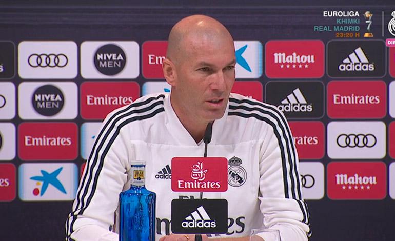 Zidane: Jugar para nada es complicado
