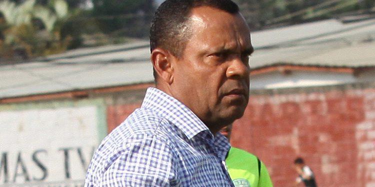 Raúl Cáceres, técnico del Real de Minas.