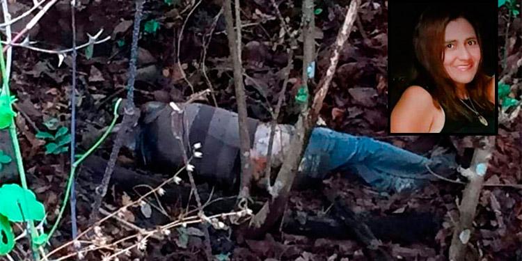 """El cuerpo de Brenda Yánez Amaya fue encontrado en un matorral, policías suponen que la mataron con """"puñal"""", pero no existe ningún dictamen forense."""