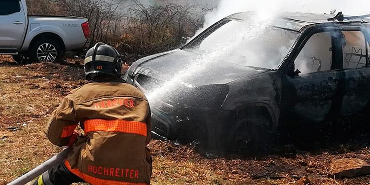 El Cuerpo de Bomberos a nivel nacional ha atendido una gran cantidad de emergencias, debido a incendios registrados por las altas temperaturas.