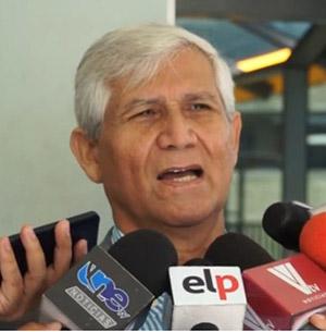 Luis Guifarro, presidente del Colegio de Economistas de Honduras.