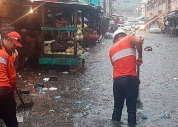 En los mercados de Comayagüela, todos los años se produce una serie de problemas por el colapso del sistema de desagüe.