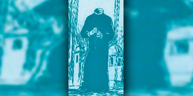 El Padre sin cabeza que aparecía en los alrededores de la Iglesia Los Dolores.