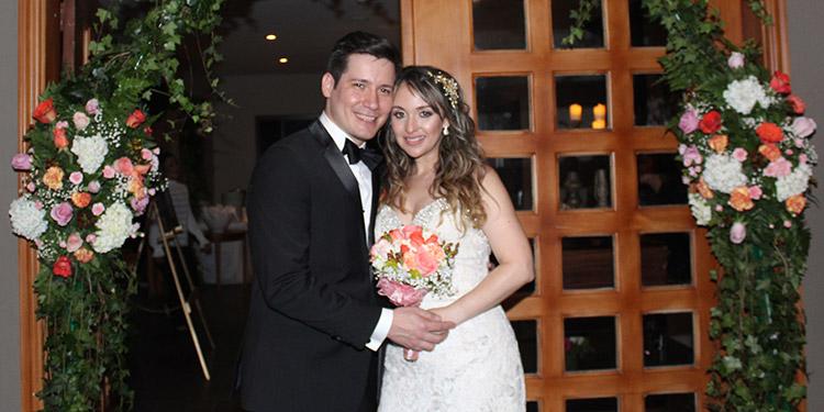 Fernando y Nicole disfrutarán su luna de miel en España y Grecia.