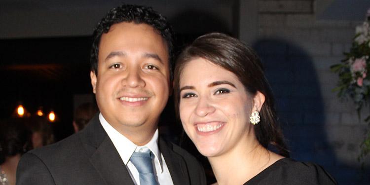 Salvador y Alejandra Joya.