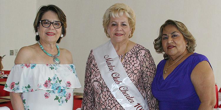 Maybelle Brevé, Auxiliadora de Gaytan y Rosa María Alvarado.