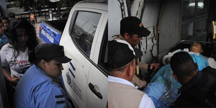 Durante el atentado criminal también resultaron heridas dos agentes.