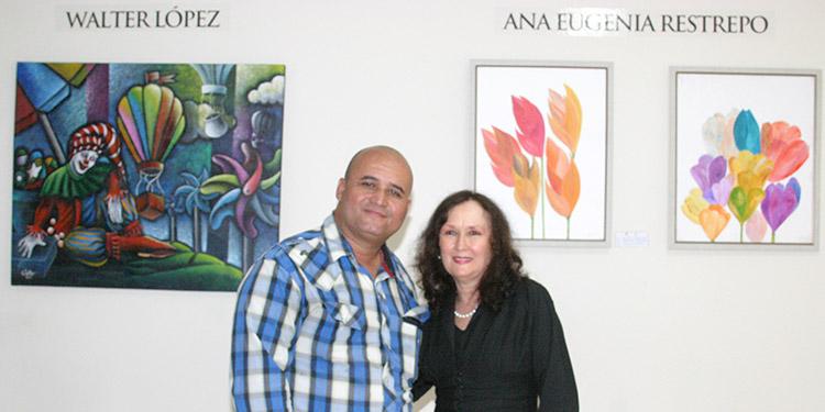 Walter López  y Ana Eugenia Restrepo