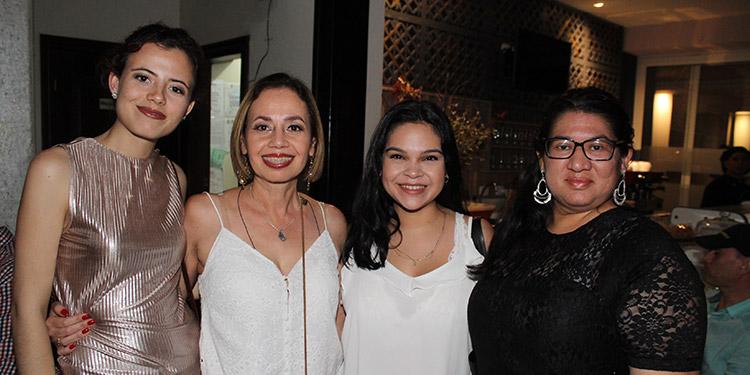 Marcela Janssen, Cindy Sevilla, Iliana Chang, Susan Morales