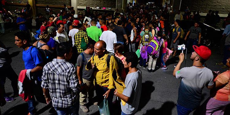 Se fugan 40 migrantes de estación migratoria en Chiapas