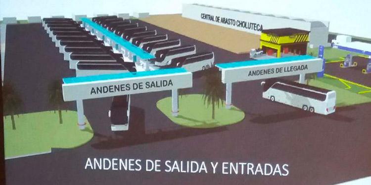 Con préstamos de instituciones financieras, los transportistas de Choluteca construirán la moderna terminal de autobuses interurbanos.