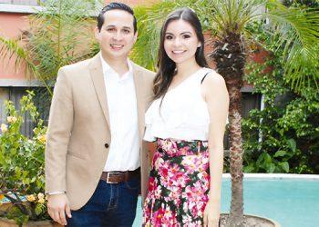 Kenneth Medina y Silvia Casco se casarán el 20 de junio.