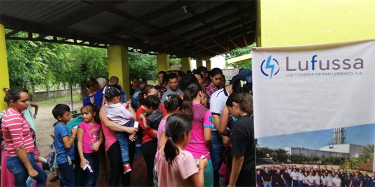 Más de 600 personas entre adultos y niños fueron atendidas en El Tambor, por personal médico y voluntarios de Lufussa.