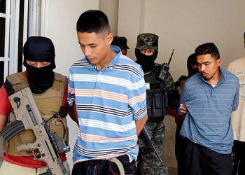 Los tres pandilleros fueron remitidos a los tribunales de justicia acusados por el delito de extorsión.