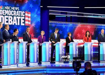Por dos días consecutivos se realizó el debate demócrata.