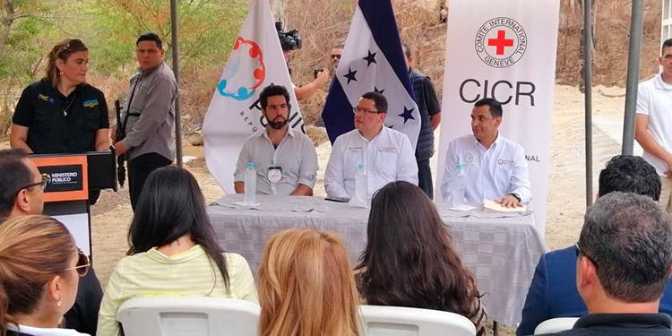 Con la cooperación de la Cruz Roja Internacional y las autoridades del Ministerio Público, se logró concretar el proyecto humanitario.