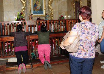 Los religiosos católicos se unieron en oración por la paz de Honduras.