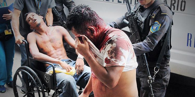 En el reciente motín hubo tres personas muertas y 27 heridos según cifras oficiales.