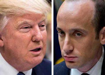 Trump y Steven Miller