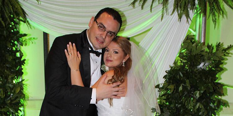 Kelvin Aguirre Cardona y Lili Pérez Pineda disfrutarán su luna de miel en varias ciudadades europeas.