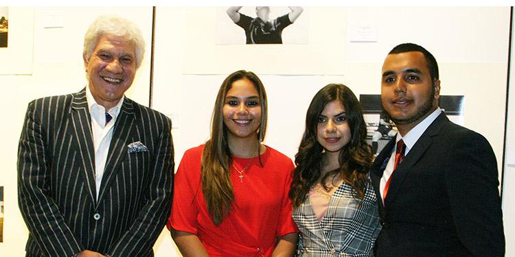 Embajador Juan José Castelli, Katheryne Lorenzana, Raquel Arambú, Jimmy Sierra.