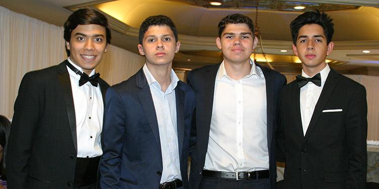 Emilio Zúniga, Gabriel Ochoa, Martín Ochoa, Fernando Aguilera