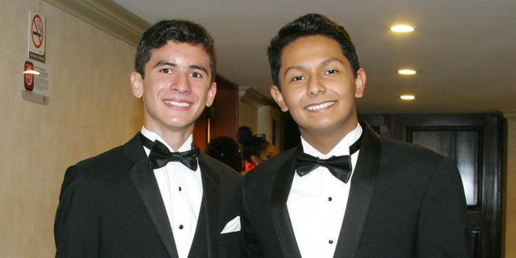 Mario Moran y Rodrigo Henriquez